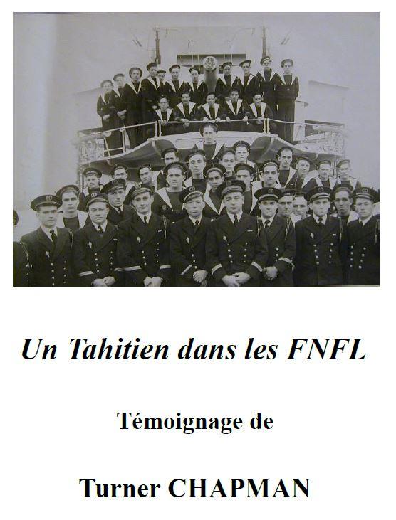 « Un Tahitien dans les FNFL » par Turner CHAPMAN